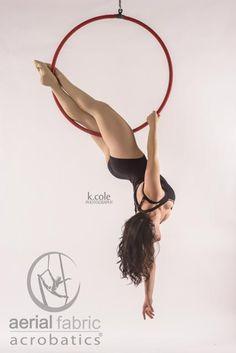 Aerial Hoop - Aerial Fabric Acrobatics