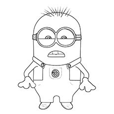 minion rush coloring pages to print   Despicable Me 2 Seeing Teeth Coloring Page   Chairs ...