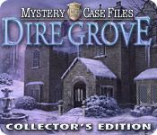 "Mystery Case Files: Dire Grove ""The Celtic legend of Dire Grove has been passed down from generation to generation for centuries. Considered a fairytale, its telling was meant to frighten small children into staying in their beds through the night. A recently unearthed artifact in the United Kingdom, however, proves the dark legend to be true! Use your wits and Hidden Object talents to follow the trail of a group of missing graduate students in Mystery Case Files: Dire Grove!"""