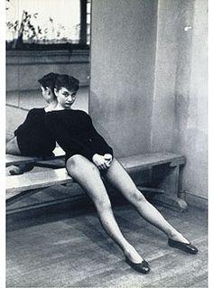 Audrey Hepburn after ballet by Ben Ross, 1952