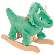 """Features:  -Suitable from 18 months.  -Dinosaur collection.  Gender: -Boy.  Product Type: -Animals. Dimensions:  Overall Height - Top to Bottom: -18.5"""".  Overall Length - Front to Back: -29.13"""".  Over"""
