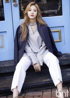 Sojin, Yura (Girl's Day) - Beauty+ Magazine May Issue Kpop Girl Groups, Korean Girl Groups, Kpop Girls, Girls 4, Vmin, Jikook, Korean Photoshoot, Kim Ah Young, Girl's Day Yura