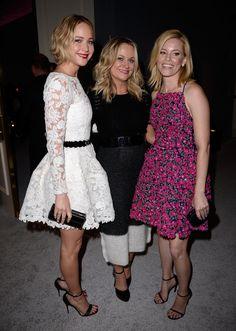 Jennifer Lawrence, Amy Poehler, and Elizabeth Banks.