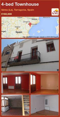 4-bed Townhouse in Sénia (La), Tarragona, Spain ►€160,000 #PropertyForSaleInSpain