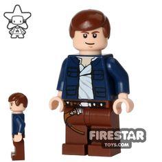 LEGO Star Wars Mini Figure - Han Solo - Open Shirt