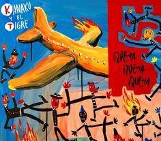 """Review del CD """"Quema Quema Quema"""" - Kanaku y El Tigre"""