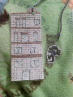 Finished my sherlock bookmark :)