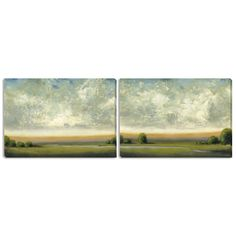 """St. John's """"Good Earth I"""" and """"II"""" Canvas Art Set - Overstock™ Shopping - Top Rated Gallery Direct Canvas"""