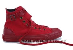 https://www.nikeblazershoes.com/monochrome-red-converse-high-tops-buckles-canvas-shoes-authentic-8a5wa.html MONOCHROME RED CONVERSE HIGH TOPS BUCKLES CANVAS SHOES AUTHENTIC MNNAH Only $66.00 , Free Shipping!