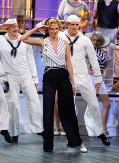 Reno Sweeney (Sutton Foster) - Anything Goes / this woman is AMAZING. YouTube her Tony performance of Anything Goes. Brilliant.