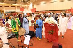Scores of people attended the Bahrain Moroccan Handicraft Week held at the Bahrain International Exhibition Centre.