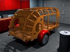 The Tinkers Workshop: Teardrop Trailer Holy Grail Project