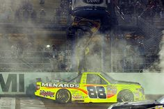 Matt Crafton celebrates championship