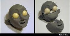 Nathan Flynn: Puppet Head Sculpt - Actress Part 2