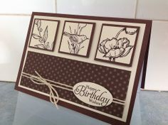 Kaseycreations, Stampin' Up, Simply Sketched by Kerry crocker Hand Stamped Cards, Your Cards, Men's Cards, Craft Cards, Card Crafts, Bird Cards, Sympathy Cards, Greeting Cards, Masculine Cards