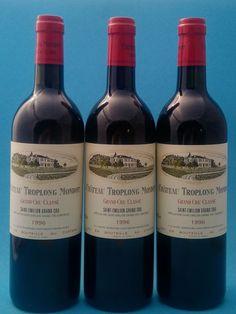 1996 Chateau Troplong Mondot Saint-Emilion 1er Grand Cru Classé - 3 flessen (750ml) EUR 29.00 Meer informatie