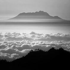 """Island in the sky"" (2013) By Hengki Koentjoro, from Jakarta, Indonesia - Fine Art Photography -"