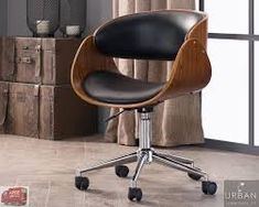 Most Comfortable Office Chair Retro Desk, Retro Office, Upholstery Fabric For Chairs, Upholstered Swivel Chairs, Cool Chairs, Desk Chairs, Home Office Chairs, Office Furniture, Furniture Ideas
