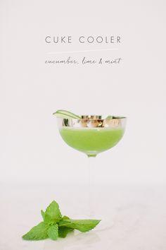 cucumber cocktail recipe with @crateandbarrel  #cratewedding