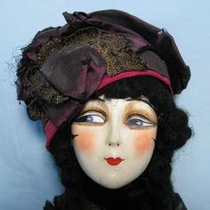 boudoir doll- RARE, STUNNING, ANTIQUE, ALL ORIGINAL BED DOLL | eBay