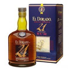 El Dorado Rum 21YO 43% 0,7L