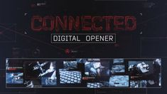Buy Connected - Digital Slideshow by videolancer on VideoHive. Connected MultiScreen Opener This is a modern digital AE-template, that is perfect for your presentation or portfolio. After Effect Tutorial, After Effects Templates, Motion Graphics, Light In The Dark, Outline, Connection, Sci Fi, Presentation, Digital