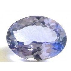 Tanzanite 1.245 ct oval cut 8x6.2 mm Gems, Plates, Rock, Tableware, Licence Plates, Dishes, Dinnerware, Griddles, Rhinestones