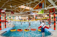 Hershey Lodge offers a sq. indoor pool complex - Hershey's Water Works at Hershey Lodge, an outdoor pool, sports complex, fitness center, and more!