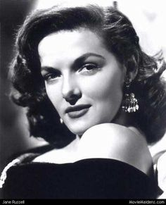 Jane Russell - Beautiful Classic Actresses of the 1920s 1930s 1940s 1950s
