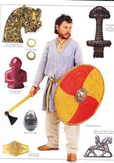 Viking peasant warrior