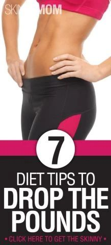 7 Diet Tips to Drop the Pounds