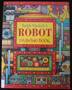 Robot Drawing Book -Canadian Home Learning: Book Sharing Monday ::