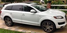Audi SUV If you've ever been in one you'll never want to drive anything else.