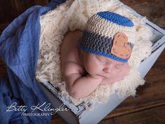 Mützen - trendy Babymütze für Jungs - ein Designerstück von BeautifulCrochet bei DaWanda
