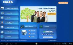 Simulador CAIXA - Aplicativo CAIXA para Tablet Android - Tenha acesso às principais funcionalidades da sua conta: faça simulação - Simulador CAIXA Habitação