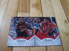 Terrence Ross Rudy Gay 2013 14 Panini Prestige Toronto Raptors 2 Card Lot Mint | eBay