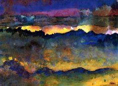 Ocean by Emil Nolde