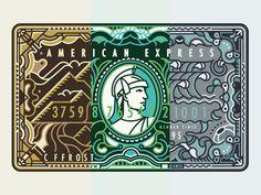 American Express by MUTI