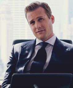 Harvey Specter. The hair, the 3 piece suit... *swoon*