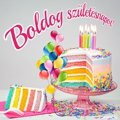 Birthday Wishes, Birthday Cards, Happy Birthday, Share Pictures, Animated Gifs, Name Day, Cake, Desserts, Kids