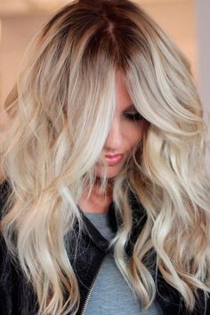 Trendy Blonde Hair Colors for 2017 ★ See more: http://lovehairstyles.com/trendy-blonde-hair-colors/