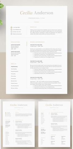 Minimalist clean resume templates, best minimal resume design 100% print ready cv resume can assist you achieve the dream job. High-quality minimal resume templates that may help you land your dream job or simply create a better looking business. Professionally designed, we take a unique approach to boring business documents, creating modern, sophisticated and easy to use […] #resumetemplate #cvtemplate #coverletter #moderncv #resumedesign One Page Resume Template, Modern Resume Template, Creative Resume Templates, Cv Template, Cv Inspiration, Cv Ideas, Cv Format, Perfect Resume, Data Visualisation