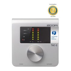 Zoom TAC-2 2-in/2-out High Speed Thunderbolt Audio Interface with 1 Year Free Extended Warranty