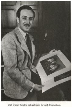 Vintage photo of a young Walt Disney #Disney #Walt_Disney