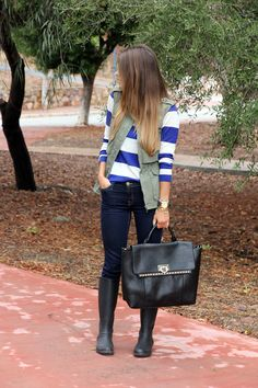 perfect rainy day outfit