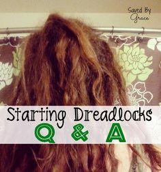 Dreadlock Q & A - Saved By Grace
