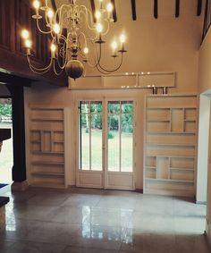 Décoration d'intérieurs, Salon , cuisine, salles de bains et dressings Decoration, Dressings, Chandelier, Ceiling Lights, Lighting, Home Decor, Bath, Decor, Candelabra