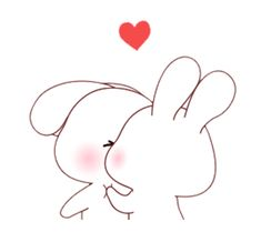 LINE Creators' Stickers - Happy bunny's daily life Example with GIF Animation Beautiful Love Images, Cute Love Pictures, Cute Love Gif, Beautiful Fantasy Art, Cute Cat Gif, Cute Bunny Cartoon, Cute Cartoon Images, Cute Love Cartoons, Cute Cartoon Wallpapers