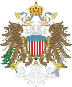 An American Monarchy - Coat of arms by Regicollis on DeviantArt