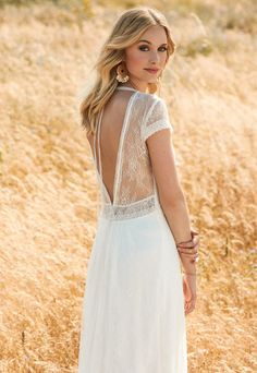 Fee wedding dress from Rembo Styling 2017 Collection -  see the rest of the collection on www.onefabday.com